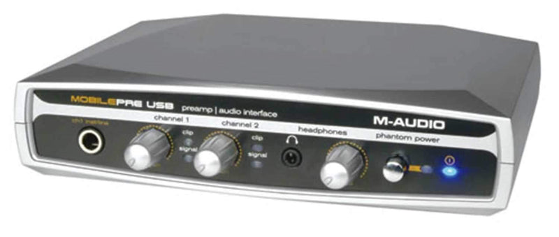 M-Audio MOBILEPRE USB Audio Interface 16 Bit/48Khz - PSSL ProSound and Stage Lighting