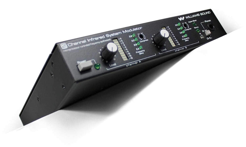 Williams Sound MOD 232 2-Channel IR Modulator - PSSL ProSound and Stage Lighting