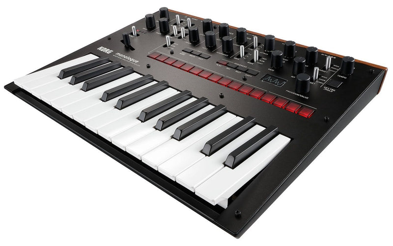 Korg Monologue Analog Monophonic Synth in Black - PSSL ProSound and Stage Lighting