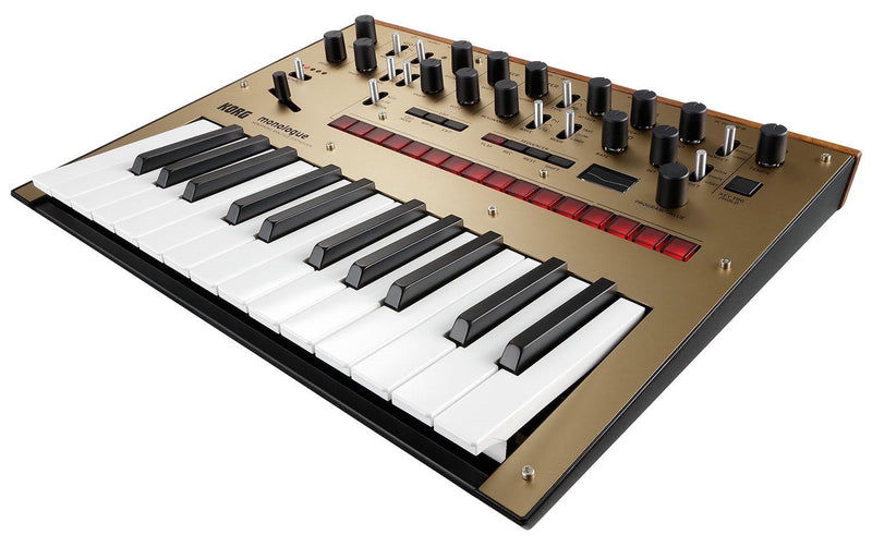 Korg Monologue Analog Monophonic Synth in Gold - PSSL ProSound and Stage Lighting