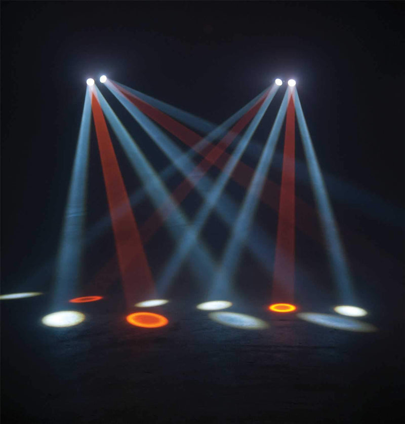 ADJ American DJ Monster Duo RGBAW LED Moonflower Effect Light - PSSL ProSound and Stage Lighting