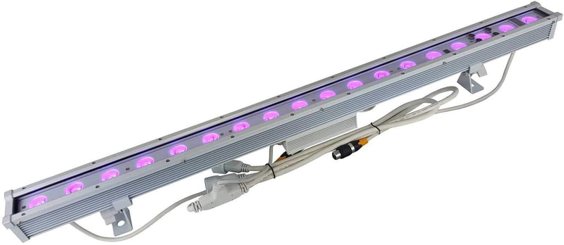 Blizzard Motif Vignette White 18x10W RGBW LED Wash Bar - PSSL ProSound and Stage Lighting