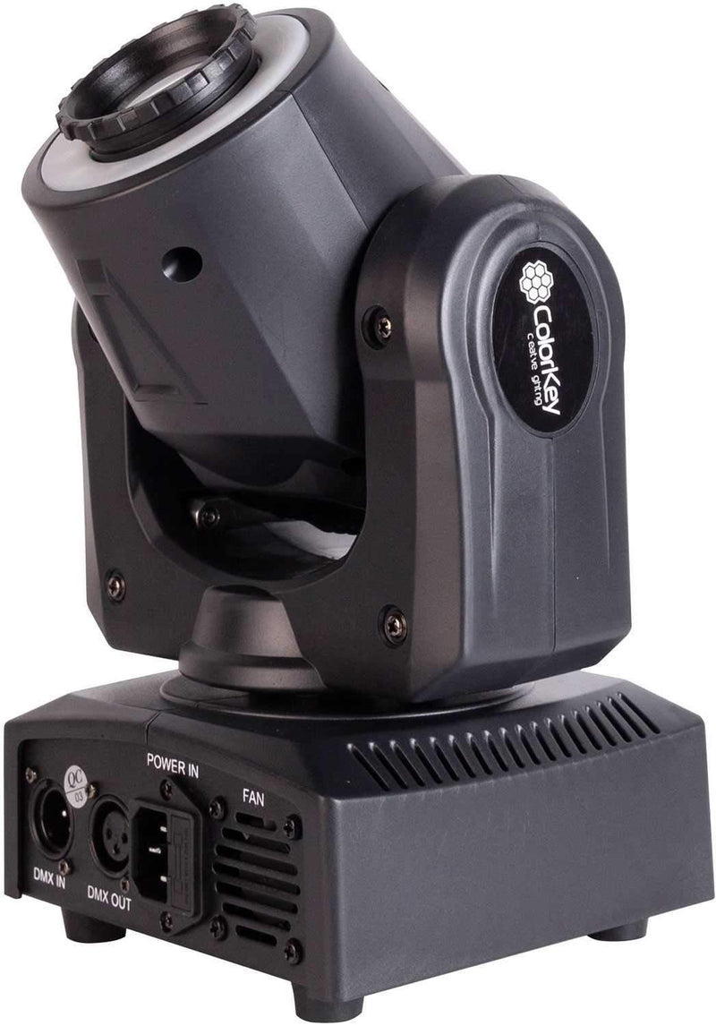 ColorKey Mover Halo Spot 30W LED Moving Head with Effect Ring - PSSL ProSound and Stage Lighting