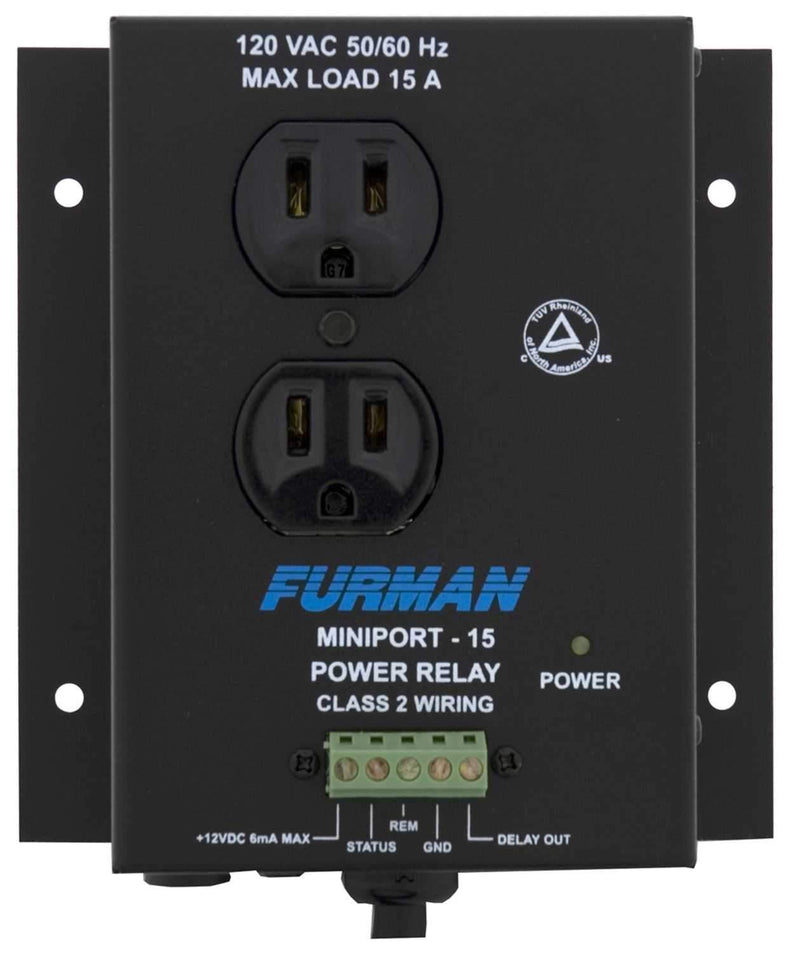 Furman MP15 Miniport Power Relay - PSSL ProSound and Stage Lighting