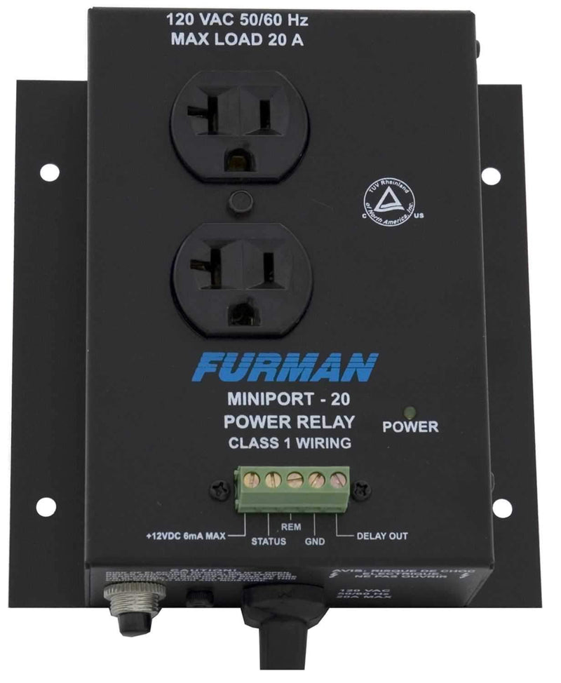 Furman MP20 Miniport Power Relay - PSSL ProSound and Stage Lighting