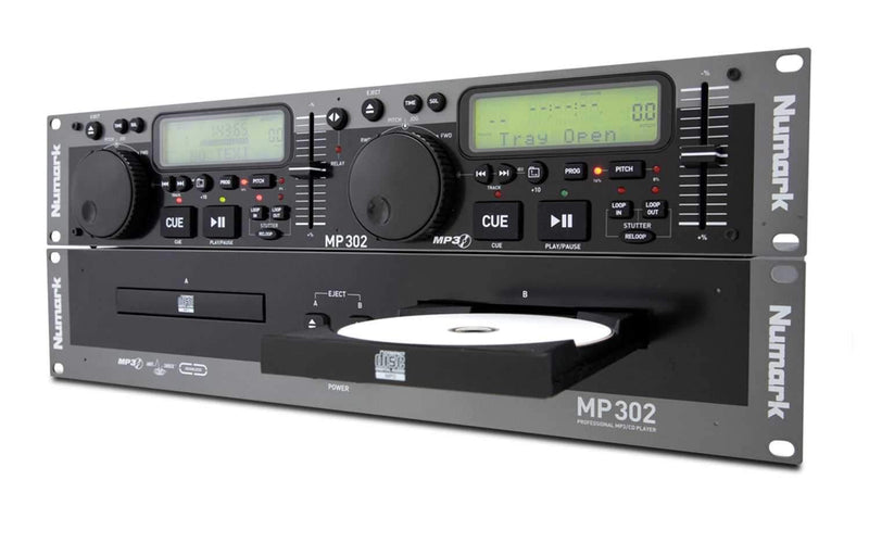 Numark MP-302 Dual CD Player With MP3 - PSSL ProSound and Stage Lighting