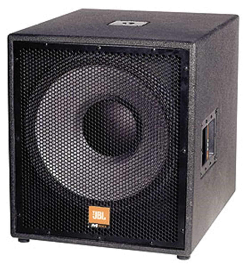 JBL MP418SP Subwoofer 18In with Dual Channel Amp - PSSL ProSound and Stage Lighting