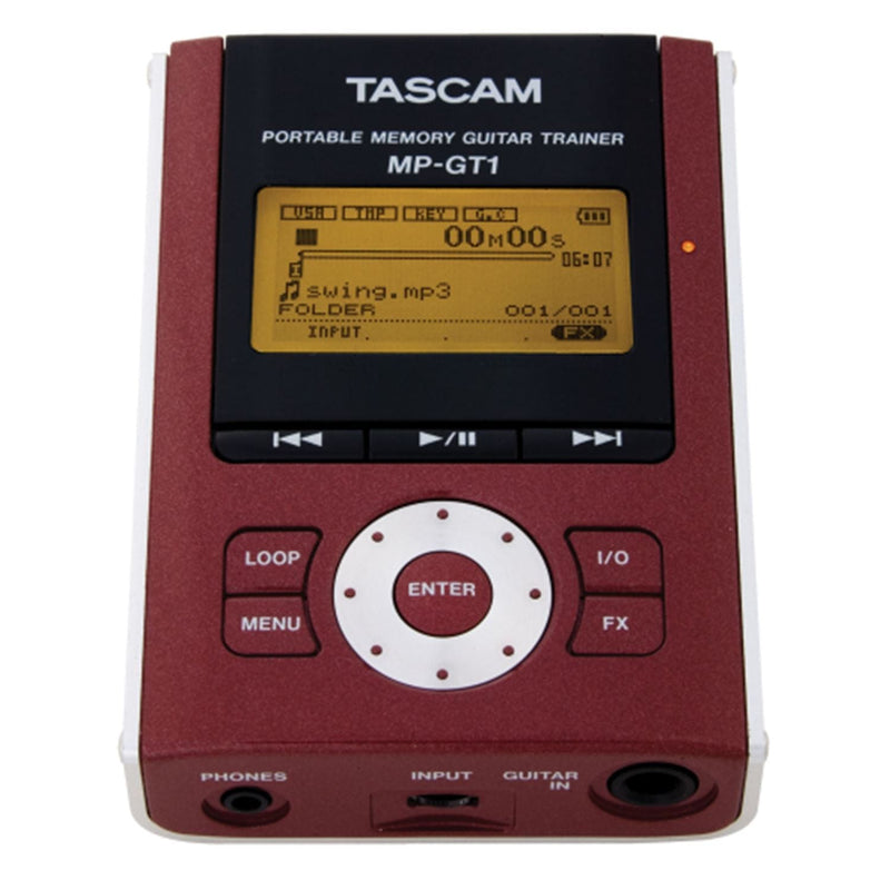 Tascam MP-GT1 Portable MP3 Guitar Trainer - PSSL ProSound and Stage Lighting