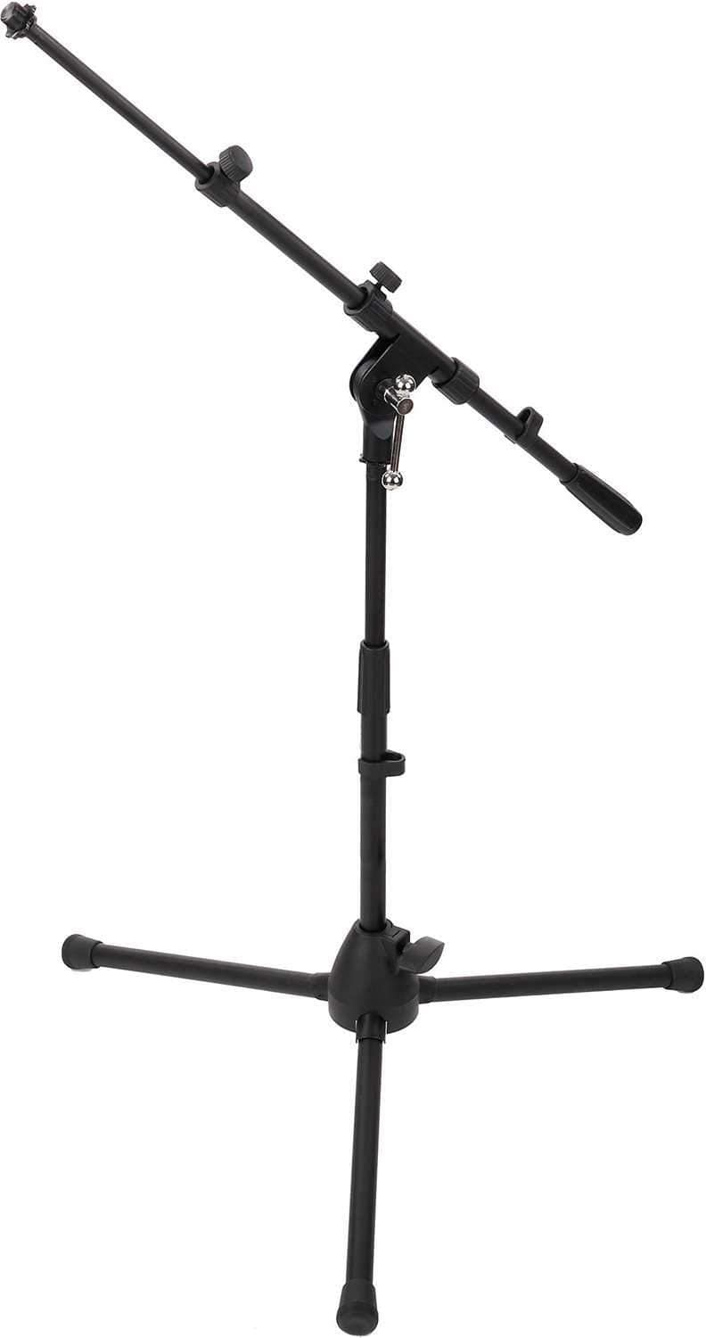 On-Stage Short Tripod Microphone Stand with Boom Arm - PSSL ProSound and Stage Lighting