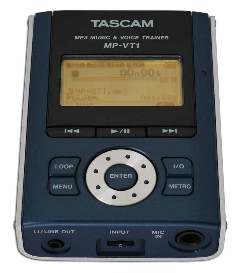 Tascam MP-VT1 Portable Voice and Intrument Trainer - PSSL ProSound and Stage Lighting