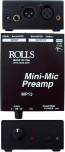 Rolls MP13 Mini Single CH Mic Preamp - PSSL ProSound and Stage Lighting