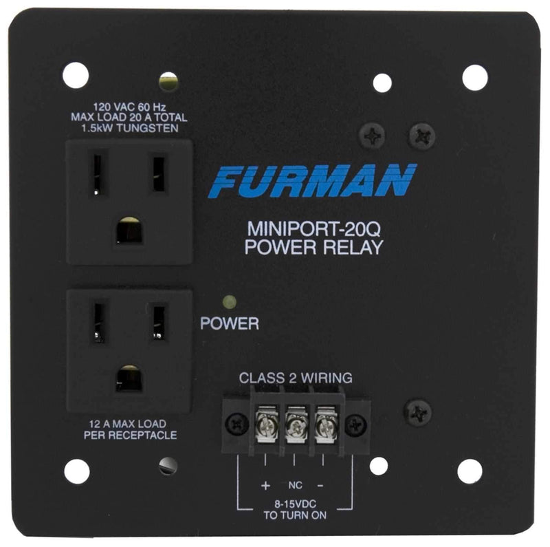 Furman MP20Q Power Relay Quad Box - PSSL ProSound and Stage Lighting