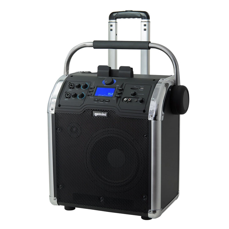 Gemini MPA-3000 Bluetooth Battery-Powered Speaker - PSSL ProSound and Stage Lighting