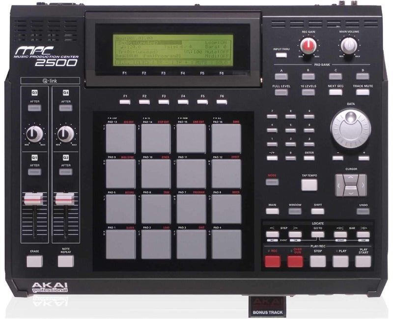 Akai MPC-2500 Digital Audio Workstation Sampler - PSSL ProSound and Stage Lighting