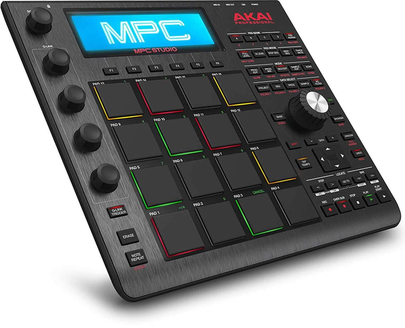 Akai MPC Studio Black Music Production Controller - PSSL ProSound and Stage Lighting