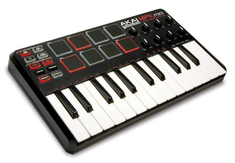 Akai MPK-MINI Mini Keyboard And Pad Controller - PSSL ProSound and Stage Lighting