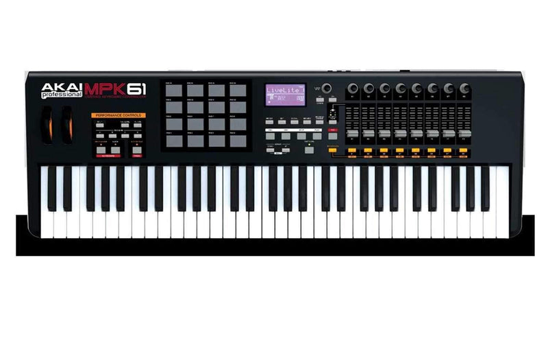 Akai MPK61 61 Key USB MIDI Keyboard Controller - PSSL ProSound and Stage Lighting
