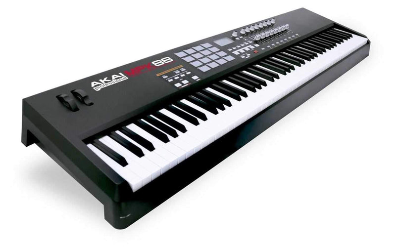 Akai MPK88 Fully-Weighted Controller with MPC Pads - PSSL ProSound and Stage Lighting