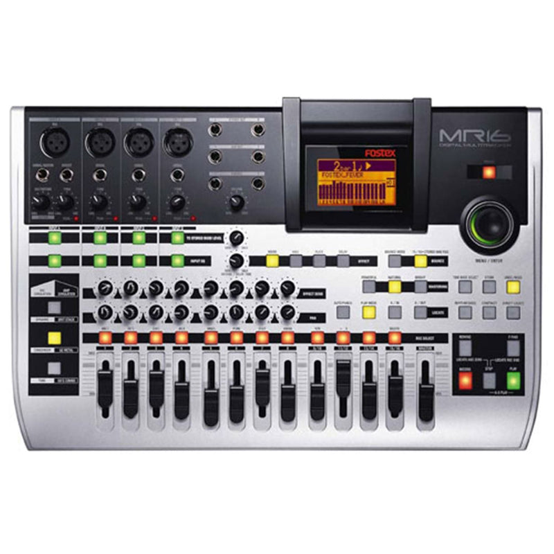 Fostex MR-16HDCD 16-Track HD Recorder with CD-R - PSSL ProSound and Stage Lighting