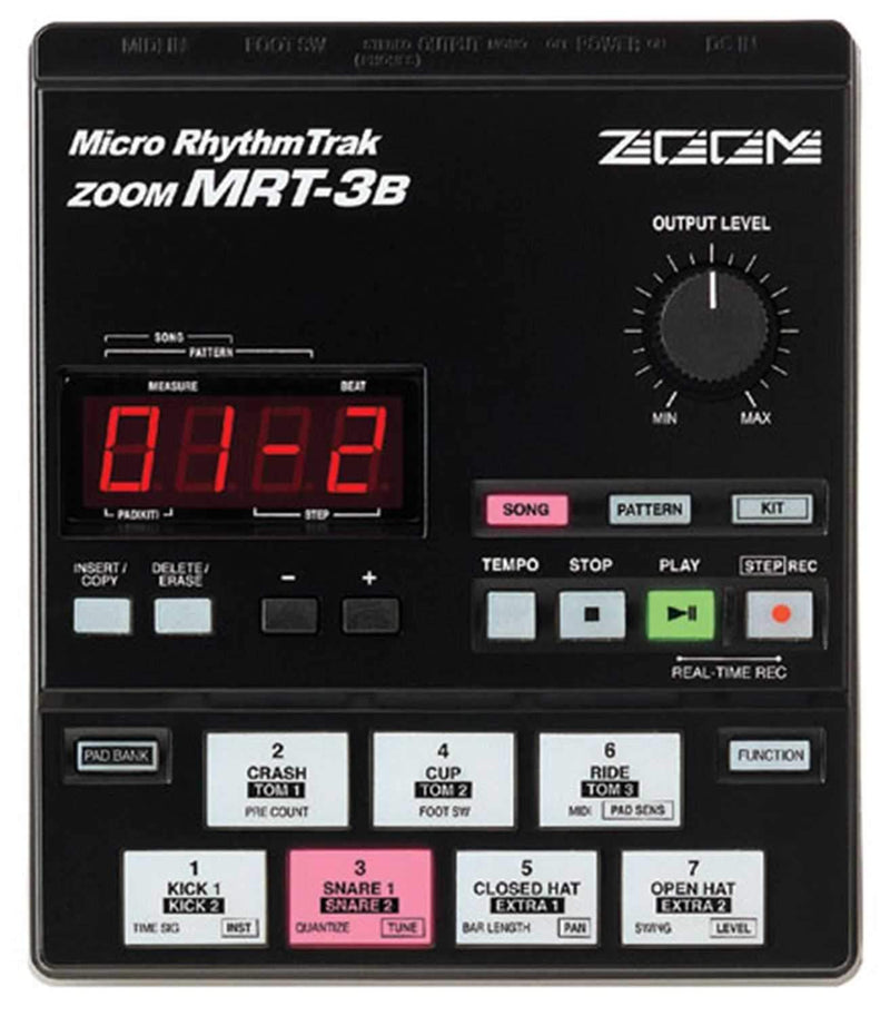 Zoom MRT3B Rhythm Machine With 50 Presets - PSSL ProSound and Stage Lighting