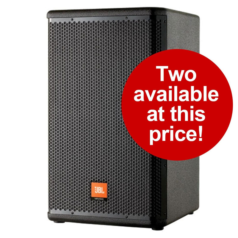 JBL MRX-515 15-Inch 2-Way Passive PA Speaker - PSSL ProSound and Stage Lighting