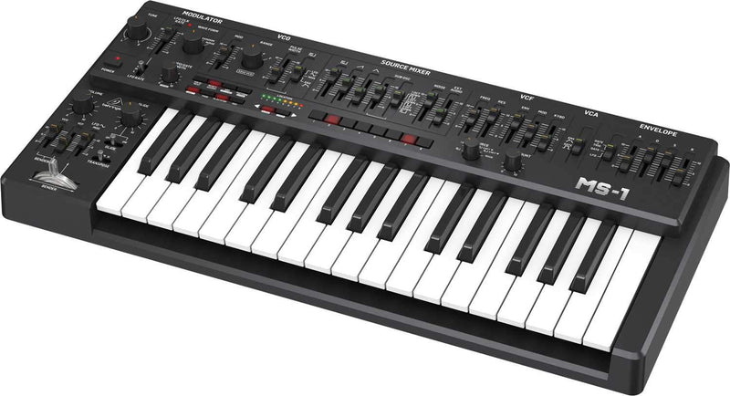 Behringer MS-1-BK 32-Key Analog Synthesizer - PSSL ProSound and Stage Lighting