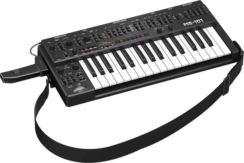 Behringer MS-101-BK 32 Key Analog Synthesizer - PSSL ProSound and Stage Lighting