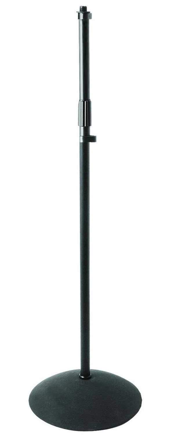 On Stage MS7250 Dome Base Mic Stand - PSSL ProSound and Stage Lighting