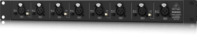 Behringer MS8000 8-Channel Microphone Splitter - PSSL ProSound and Stage Lighting