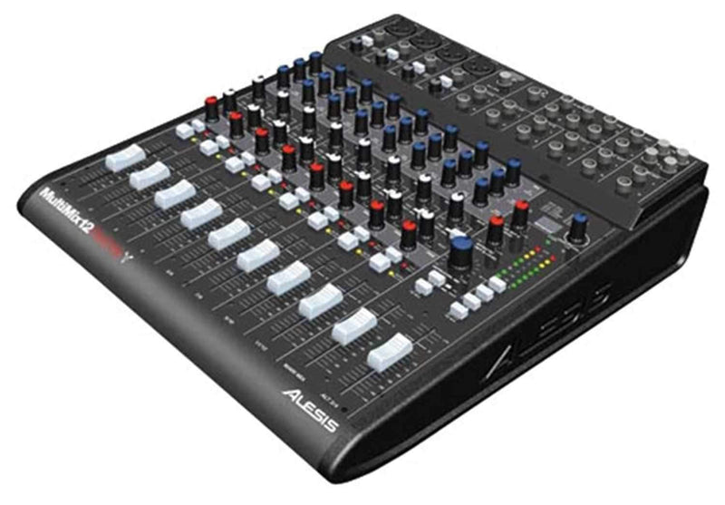 Alesis MULTIMIX 12 FW Firewire 12 Channel Mixer - PSSL ProSound and Stage Lighting