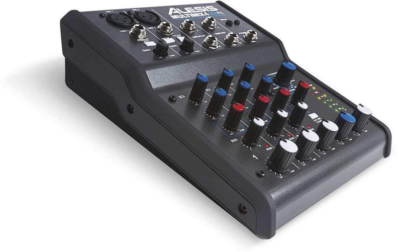 Alesis Multimix 4 USB FX PA Mixer Audio Interface - PSSL ProSound and Stage Lighting