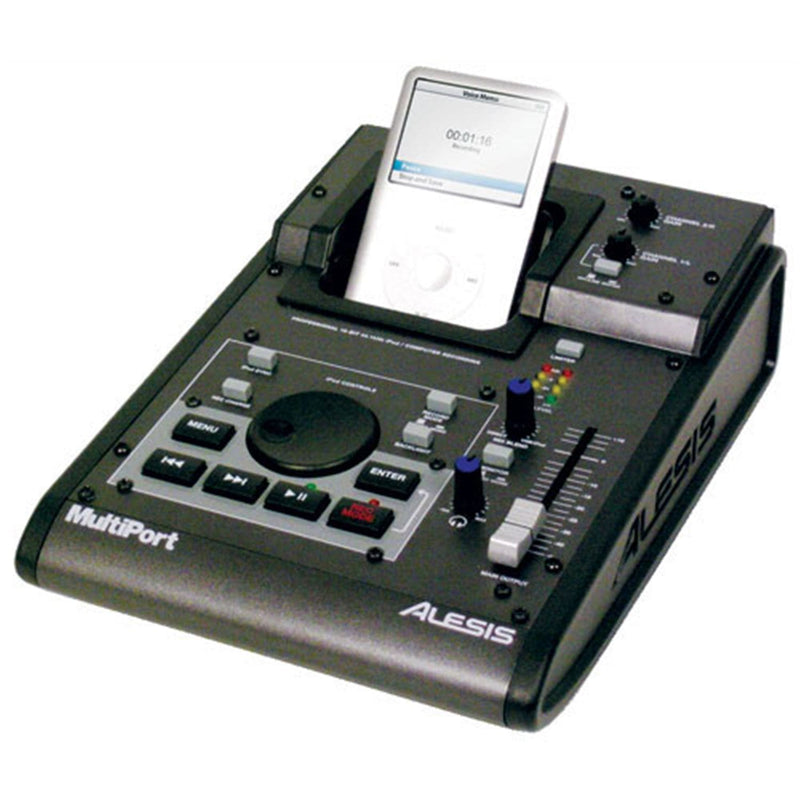 Alesis MULTIPORT Standalone Recorder For iPod - PSSL ProSound and Stage Lighting