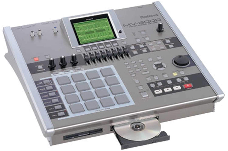 Roland MV-8000 Sampling/Record Production Studio - PSSL ProSound and Stage Lighting