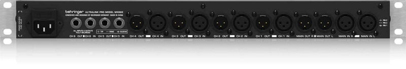 Behringer MX882 Ultralink 6 X 2 Splitter / Mixer - PSSL ProSound and Stage Lighting