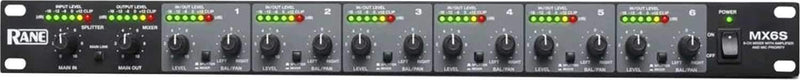 RANE MX6S 6-Channel Mixer & Multi-Channel Splitter - PSSL ProSound and Stage Lighting