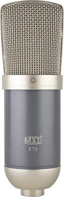 MXL 870 Utility Studio Large Condenser Microphone - PSSL ProSound and Stage Lighting