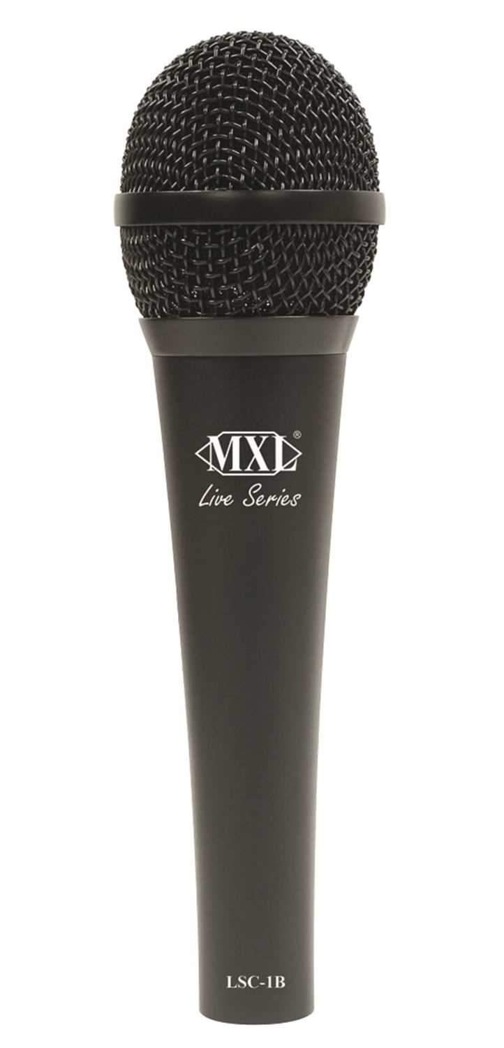 MXL LSC1B Condenser Mic with Multiple Capsules (Blk) - PSSL ProSound and Stage Lighting