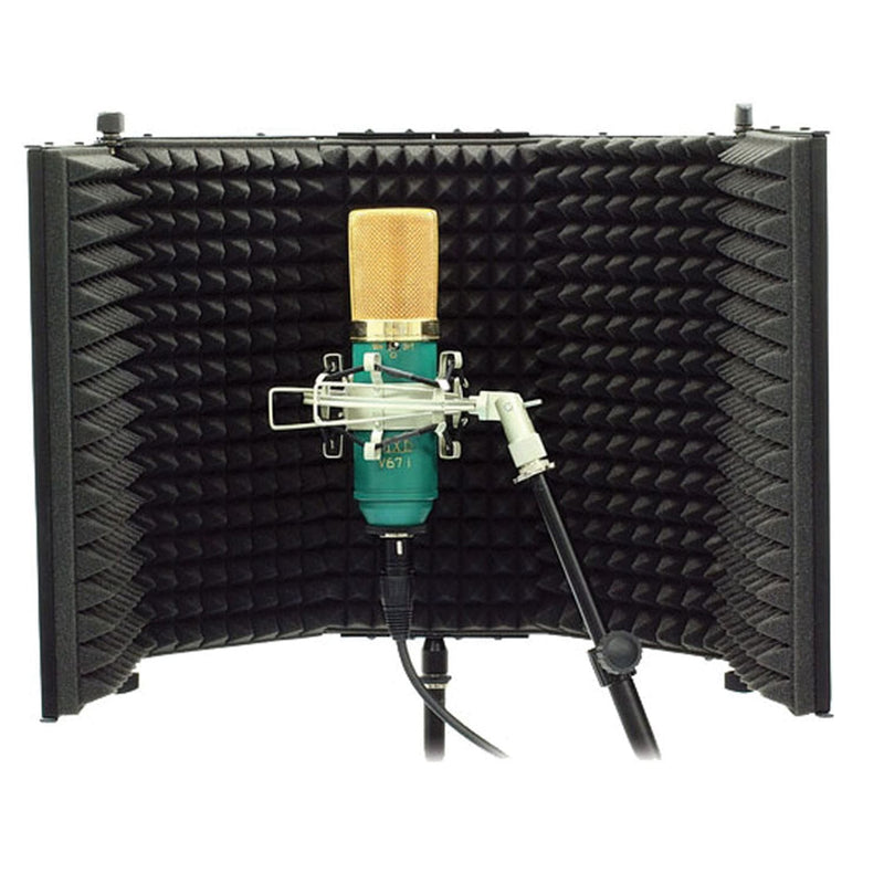MXL RF100 Mic Stand Mountable Reflection Screen - PSSL ProSound and Stage Lighting