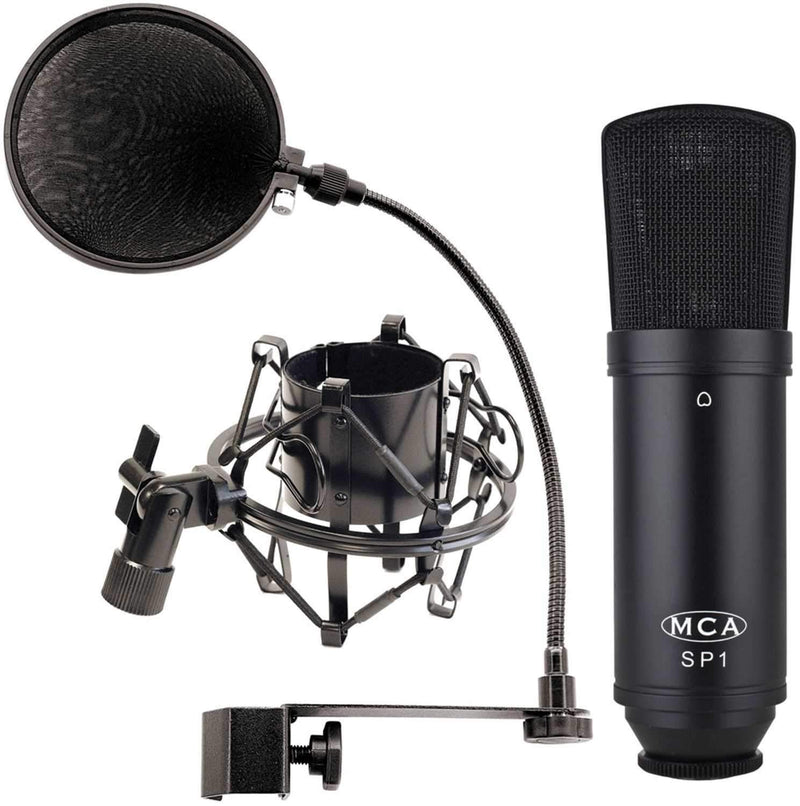 MXL SP-1 Studio Microphone & Accessory Package - PSSL ProSound and Stage Lighting