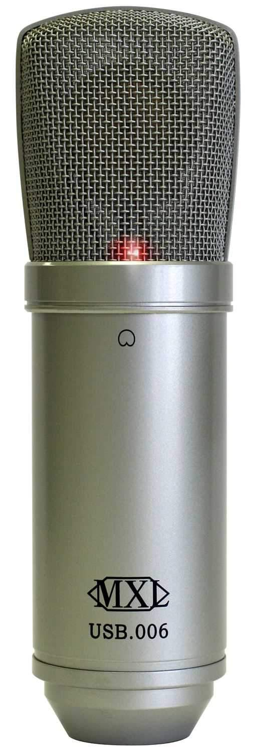MXL MXL-USB-006 Large Condenser Microphone with USB - PSSL ProSound and Stage Lighting