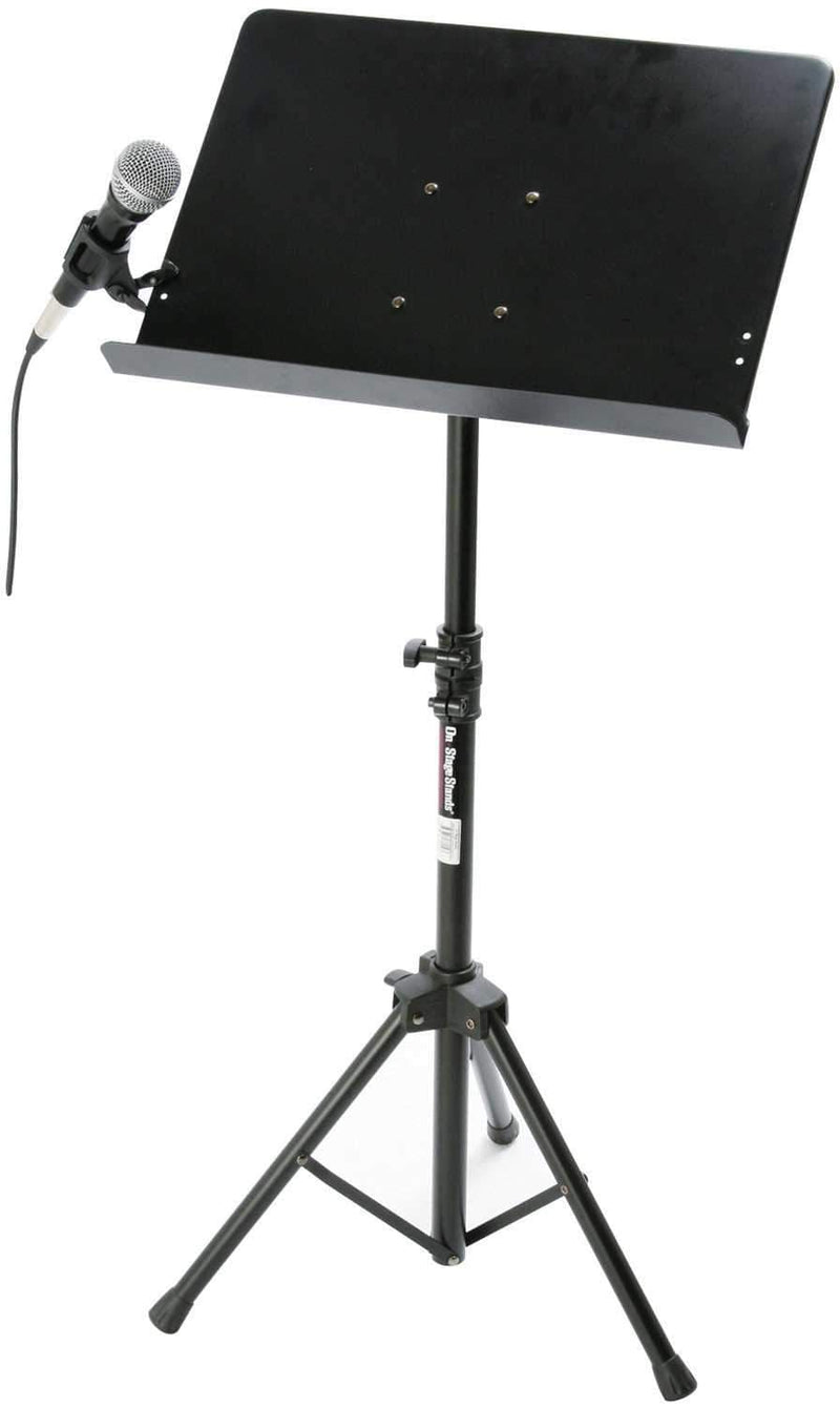 On Stage MY101 Conductor Stand Mic Clip Adapter - PSSL ProSound and Stage Lighting
