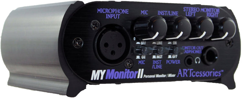 ART MYMONITORII Personal Monitor Mixer - PSSL ProSound and Stage Lighting