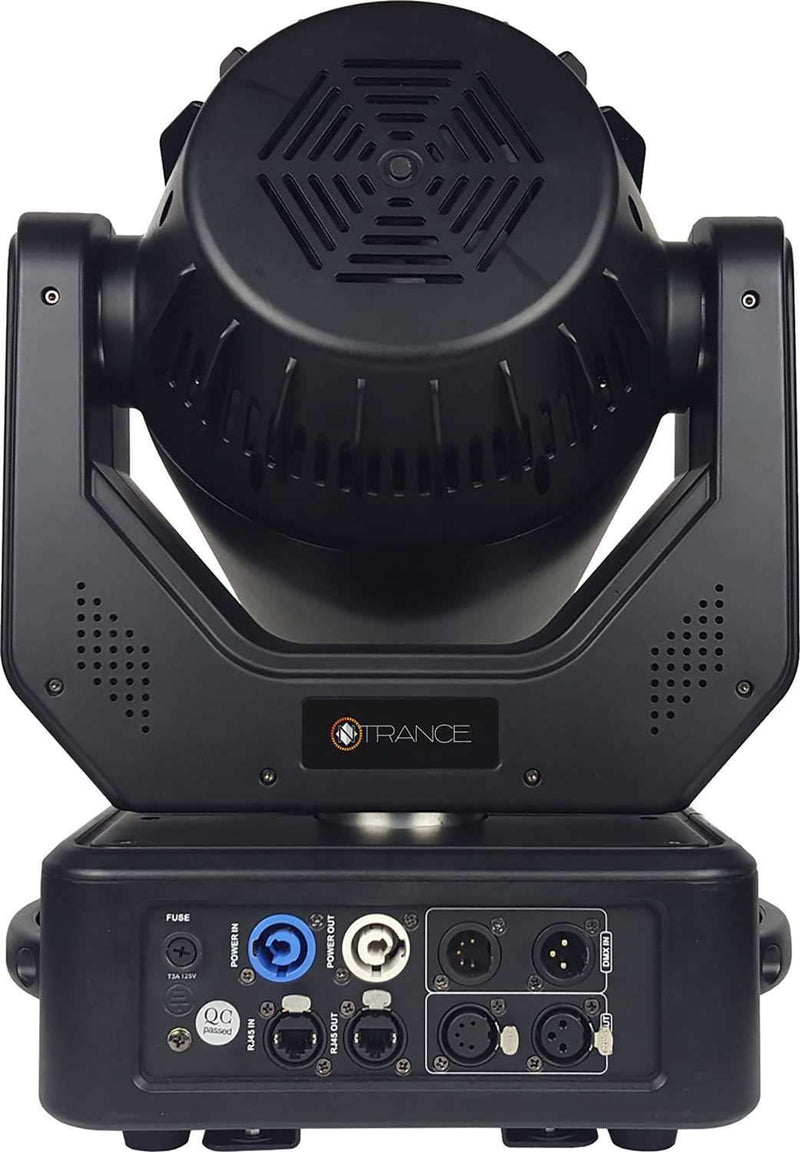 Blizzard N-Trance 90W LED Beam Moving Head with RGB Effects Ring - PSSL ProSound and Stage Lighting