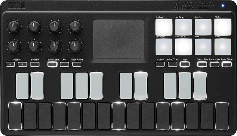 Korg nanoKEY Studio Mobile Midi Keyboard - PSSL ProSound and Stage Lighting