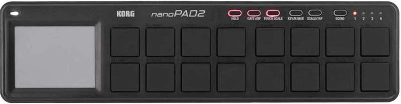 Korg Nano Pad 2 USB Midi Pad Controller - PSSL ProSound and Stage Lighting