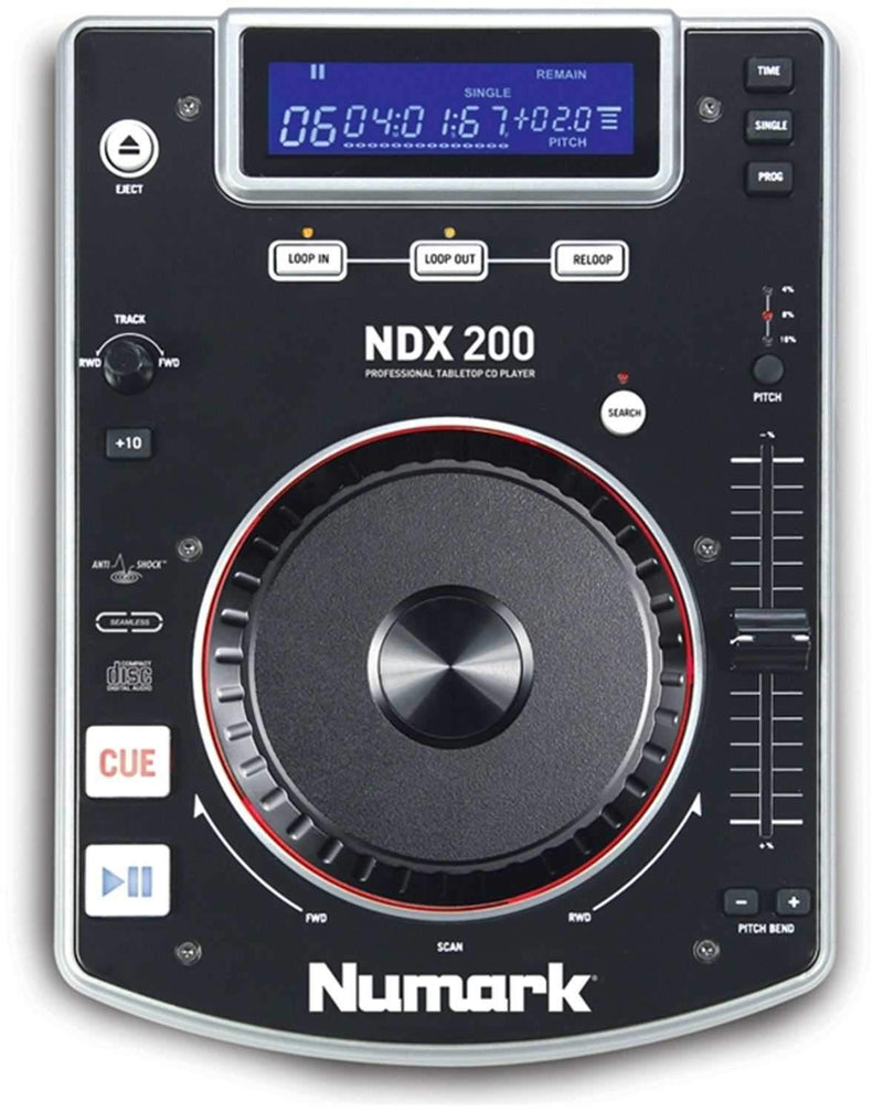 Numark NDX200 Table Top CD Player - PSSL ProSound and Stage Lighting