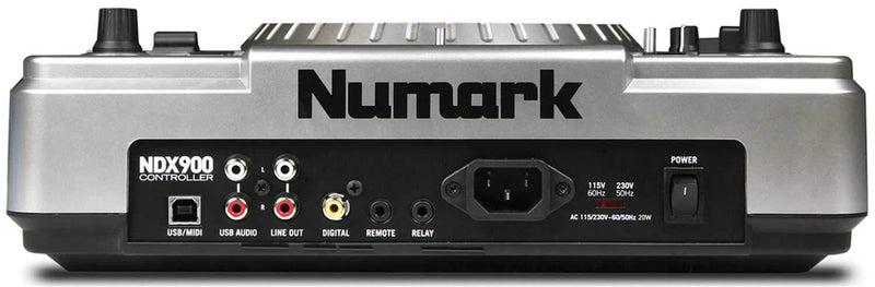 Numark NDX900 Pro Software Controller with Audio Out - PSSL ProSound and Stage Lighting