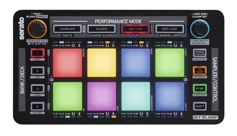 Reloop Neon USB Pad Controller for Serato DJ - PSSL ProSound and Stage Lighting