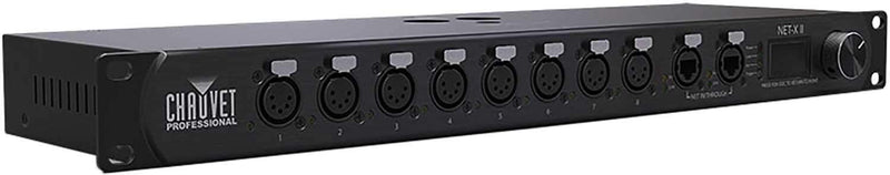 Chauvet Net-X II Rack Mount Ethernet to DMX Node - PSSL ProSound and Stage Lighting