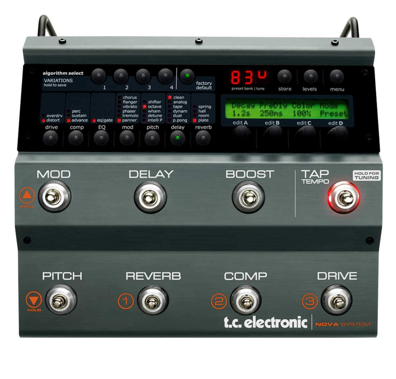 TC Electronics NOVA-SYSTEM Multi-Effects Pedal - PSSL ProSound and Stage Lighting